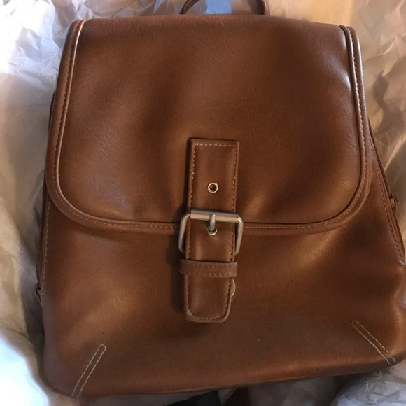 White Stag Handbags - EUC Backpack Pocketbook